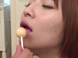 Gorgeous pussy fuck scenes with neat Risa Mizuki  More at javhdnet