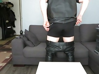 Finnish leather gay and toy